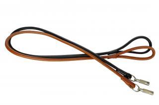 Поводки круглые с капроновым шнуром Mister GaFF Premium 40 мм/140 см