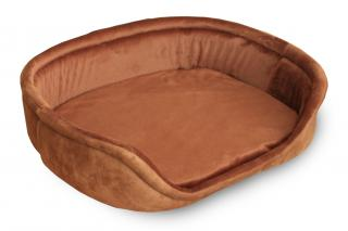 Лежак Джулия 500х560х130 мм, рыжий