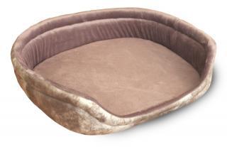 Лежак Джулия 500х560х130 мм, серый