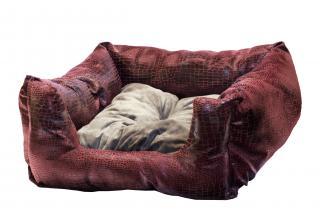 Бонни рептилия (розово-серый) 50х50х20 см
