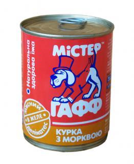 Мистер ГаФФ с курицей и морковью в желе 340 гр