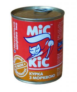 МиС КиС с курицей и морковью в желе 340 гр