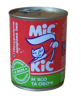 МиС КиС с мясом и овощами 340 гр