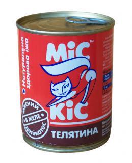 МиС КиС с телятиной 340 гр